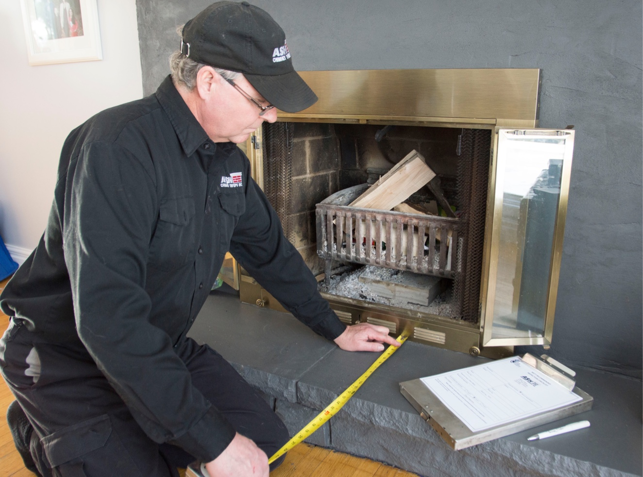 WETT Inspection of chimneys, fireplaces, wood stoves and wood inserts.
